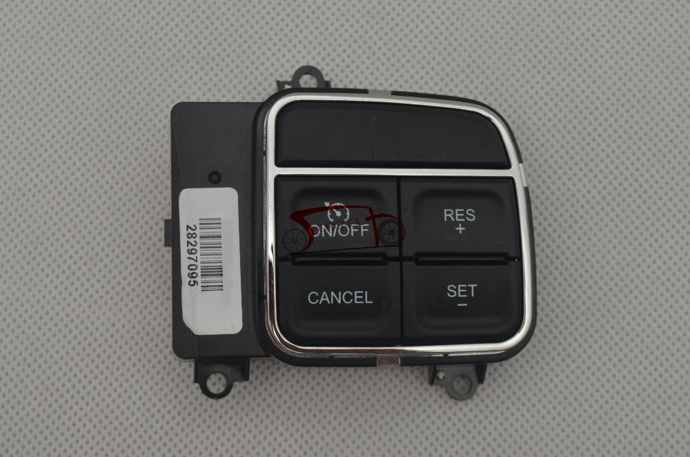 56046094AF 68140288AC CRUISE CONTROL SWITCH 2011 15 FOR DODGE CHRYSLER JEEP RAM #56046094AF