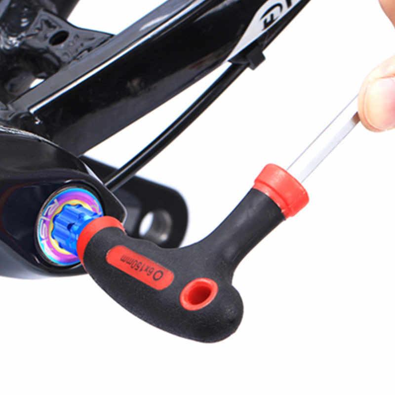 Risk Bicycle Crank Installation Tool for Remove&Install Crank Arm  Adjustment Cap for Shimano HollowTech XT XTR Bike Repair Tools