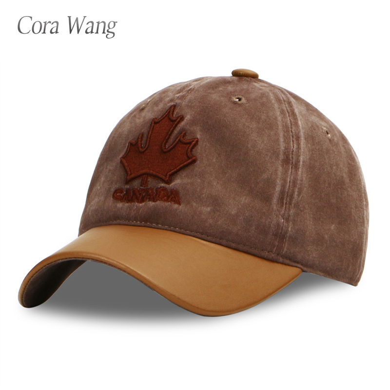 Cora Wang Denim Baseball Caps Men Canada snapback caps women Dad Hats for men hip hop navy trucker cap bone casquette de marque