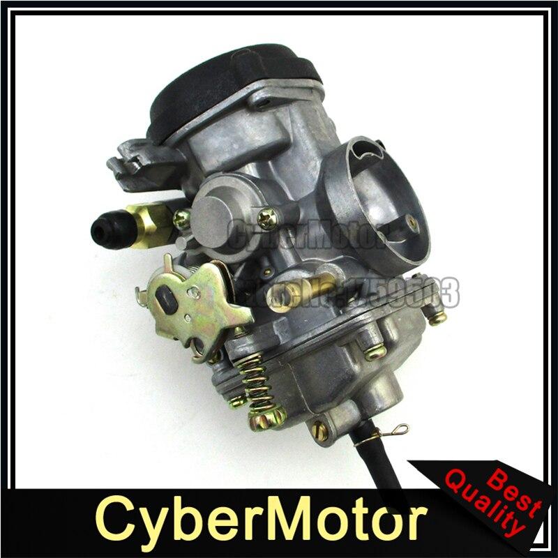 30mm Carburetor For Roketa ATV 10 Jianshe JS250 Baja WD250 U Trail JetMoto Tank 250cc ATV