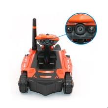 YD-211 RC Tank Wifi FPV 0.3MP Camera Robot Phone Controlled Car RC Spy Robot Battle Tank Mini APP Remote control Tank Toy