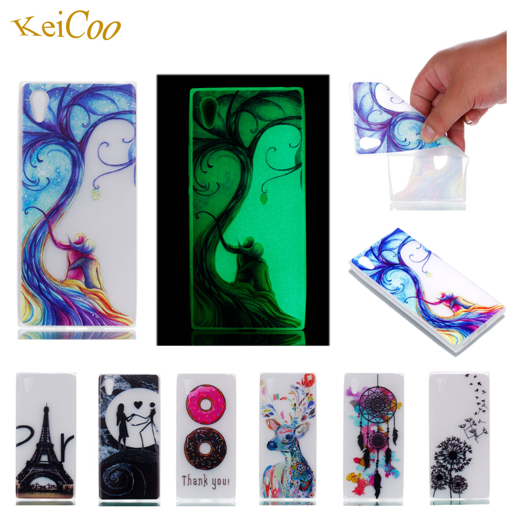 Luminous Cases For Huawei Honor 9 STF-L09 Soft TPU Silicon IMD Glossy Back Covers For HUAWEI Honor9 9 Dual SIM Art Pattern Capas