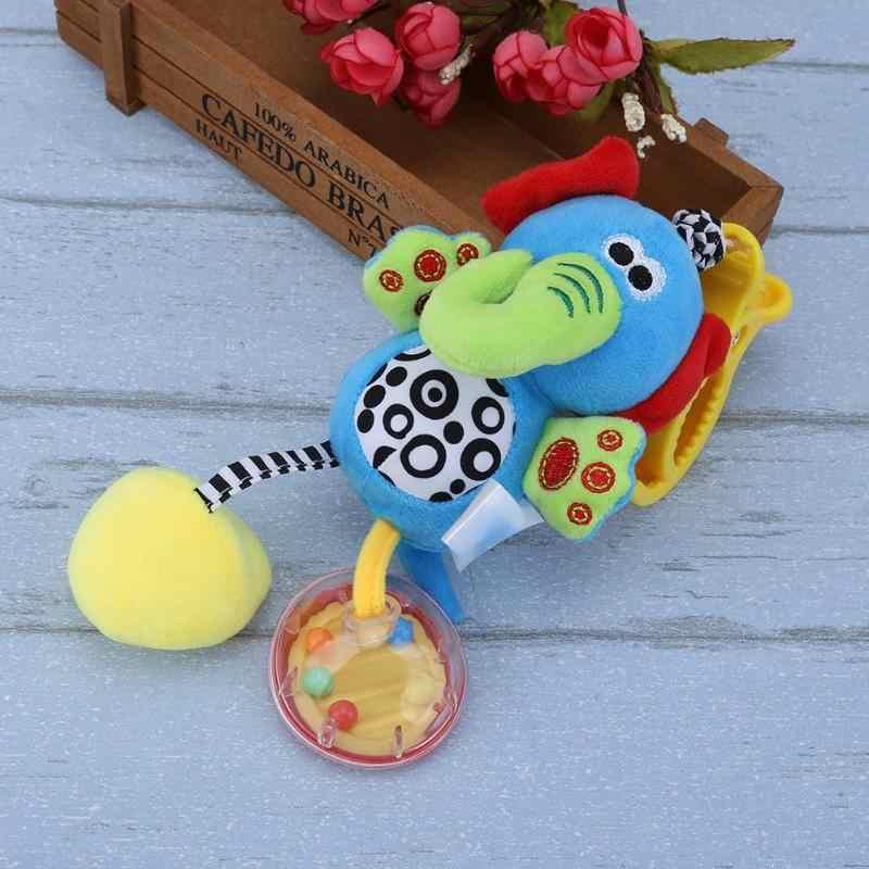 Carillón de viento lindo Animal suave bebe niño pequeño cuna juguete cochecito colgante campana sonajero juguete móviles para bebé cuna recién nacidos niños regalo