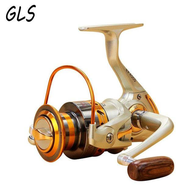 Fishing wheel 1000 - 7000 Fishing Reel 13 Ball Bearings 5.5 : 1 Fishing Spinning Reel Foldable Exchangable Reel Handle For