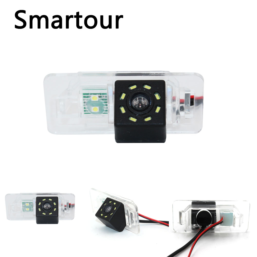 Smartour CCD color car backup rearview reverse camera For BMW E46 E39 E90 E91 E92 323 525 New auto reversing camera|Vehicle Camera| |  - title=