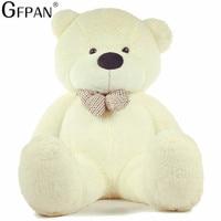 1PC 1M Kawaii Teddy Bear Super Soft Plush Toys Stuffed Fluffy Animal Bear Classical Doll Christmas Gifts for Kids Drop shipping