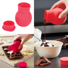 Practical Silicone Chocolate Melting Pot Mould Butter Sauce Milk Baking Pouring #71566