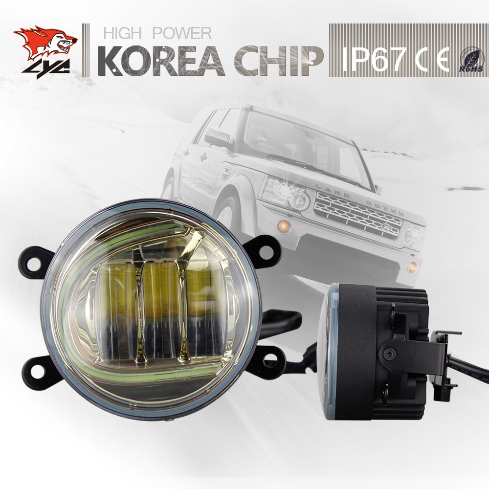<font><b>Best</b></font> Selling LYC For Fog Lamp Jeep Wrangler Headlamp Assembly Fog Automobile Led Light Made With Daytime Running Lamps