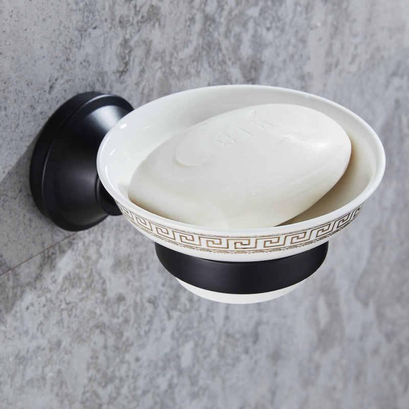 408B serii czarna farba ze stali nierdzewnej łazienka sprzętu wieszak na ręczniki wieszak na ręczniki uchwyt na papier wieszak ścienny mydelniczka uchwyt na szczotkę