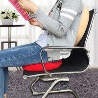 Wielofunkcyjny Aksamitna Okrągłe Poduszki Siedzenia Oddychająca Ładne Dolna Poduszka Siedziska Krzesło Pad dla Office Home Car