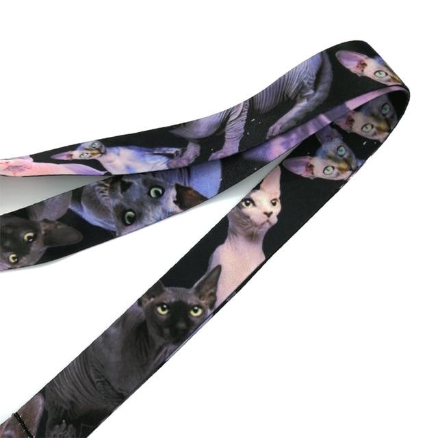 Купить брелок regooly re20 sphynx с ремешком на шею в виде кошки ремешок