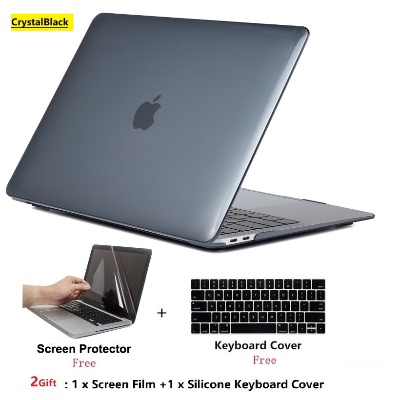4 in 1 Matte Hard Case Keyboard Cover Screen Protector Sleeve Bag Macbook 12inch