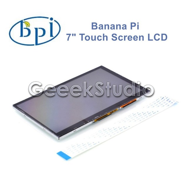 "Oficial de banana Pi 7 Polegada 7 ""LVDS 800*480 Touch Screen Display LCD"