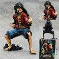 Caliente! nueva 1PCS18cm una sola pieza negro mono D Luffy figura de acción juguetes juguete navidad