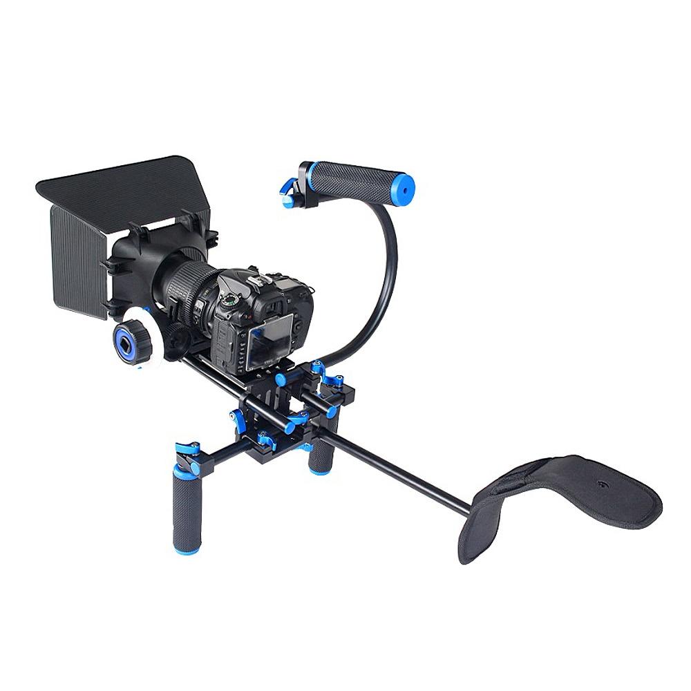 4in1 DSLR Rig Set Komplet për filmin e sistemit të - Kamera dhe foto - Foto 3