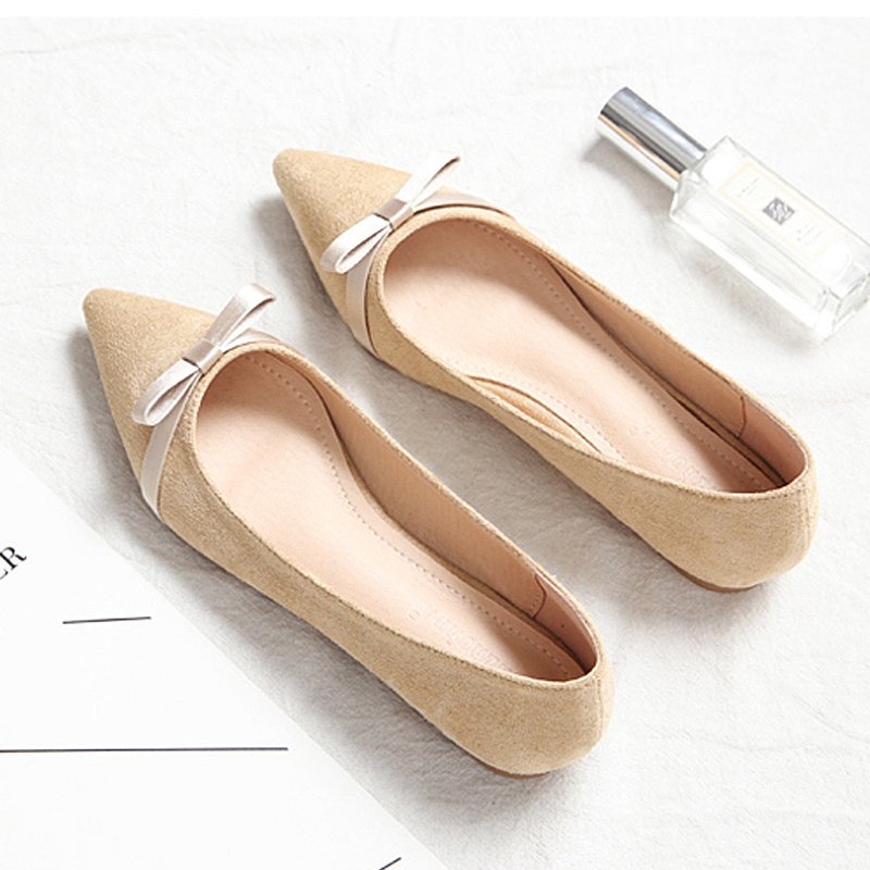 Tailored 2019 new womens casual flat shoes European style fashion spring pointed womens shoes Best-selling style 31 -44 sizeTailored 2019 new womens casual flat shoes European style fashion spring pointed womens shoes Best-selling style 31 -44 size
