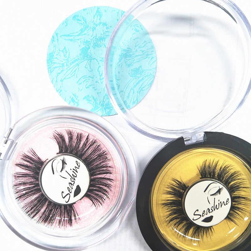 d32038f4087 Expensive Round box Real Mink OEM factory 100% 3d mink fur eyelashes / mink  strip