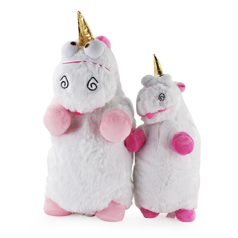 1pc 40/55cm desprezível me macio unicórnio juguetes brinquedos macio pelúcia brinquedo travesseiro presente de natal para crianças