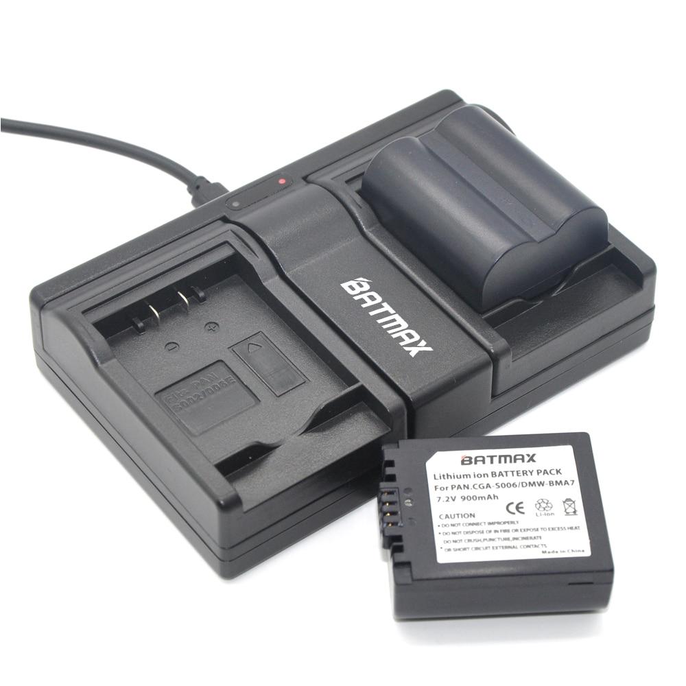 2x CGA-S006 CGR CGA S006E S006 S006A DMW-BMA7 DMW BMA7 Battery+Dual Charger for Panasonic DMC FZ7 FZ8 FZ18 FZ28 FZ30 FZ35 FZ38 1pcs cga s006 cga s006ebattery charger car charger for panasonic cgr s006a 1b bp dc5u cgr s006e