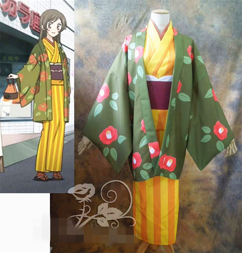 New Clothing Made Anime Japan Anime Kamisama Kiss Momozono Nanami Kimono Second Quarter Shopping Cosplay Costume M