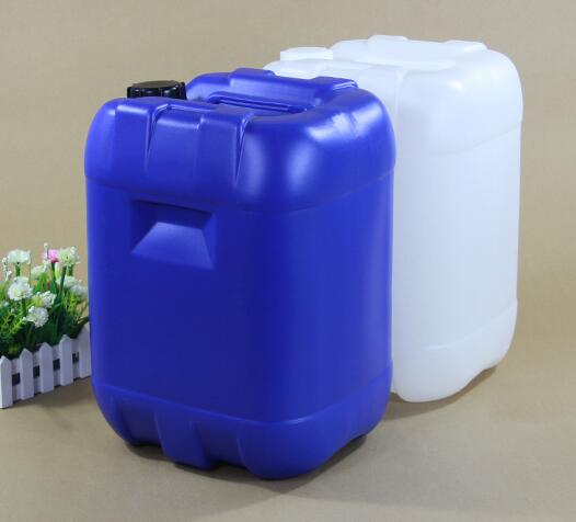 25L large capacity plastic stacking barrel with screw cap for packing liquid and solid products Food Grade Chemical bucket