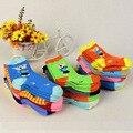 0-3 años Unisex Bebé calcetines del piso del calcetín niños calcetines de bebé niñas niños Niños cutu animal rata conejo oso calcetines patrón algodón