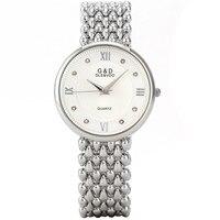 G & D GLE & VDO Party Horloge Reloj Mujer Marcas Famosas Quartz Orologi donna Armband Strass Horloges Geschenkdoos gratis Schip