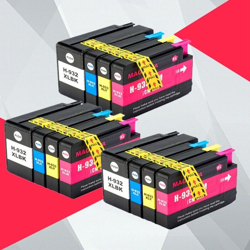 12PK Compatibel 932XL 933 voor HP932 933XL vervanging Inkt Cartridge voor HP Officejet 6100 6600 6700 7110 7610 7612 Printer-in Inktpatronen van Computer & Kantoor op AliExpress - 11.11_Dubbel 11Vrijgezellendag 1