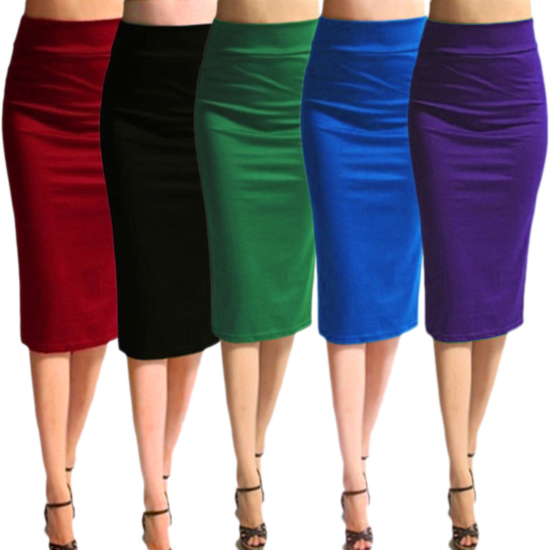 Popular Pencil Skirt Size 18-Buy Cheap Pencil Skirt Size 18 lots ...