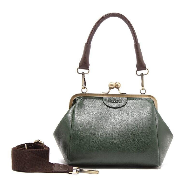 ᓂMicocah marca bolsa caliente venta vintage Bolsas pu cuero mujeres ...