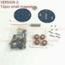 חדש אטום DIY push סוג מגנטי ריחוף ערכת (חלקי) של אנלוגי במעגל אינטליגנטי