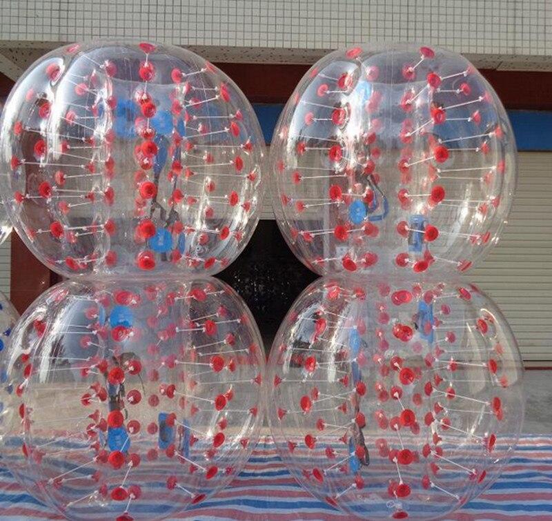 12pcs balls 1 5M Inflatable Bubble Soccer font b Football b font Ball bubble ball with