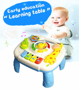 Image 2 - Baby Toys 13 24 Months Musical Games Table Educational M Toys For Baby Brinquedos Para Bebe Oyuncak Baby Boy Toys
