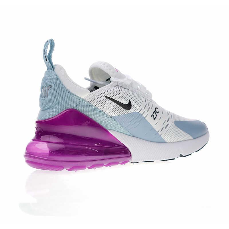 Nike Air Max 270 รองเท้าวิ่งกีฬารองเท้าผ้าใบกลางแจ้งสบาย Breathable สำหรับผู้หญิง AH6789-004 36-39 EUR ขนาด
