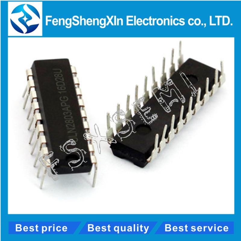 10pcs/lot ULN2803APG  ULN2803 DIP-18 ULN2803AN ULN2803A Octal High Voltage,High Current Darlington Transistor Arrays