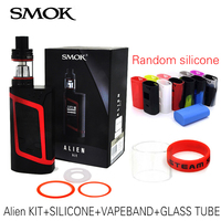 100 Original Smok Alien Kit With 3ml TFV8 Baby Tank Electronic Cigarette Vape Kit Alien 220W