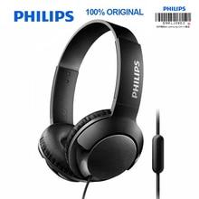 Philips SHL3075 профессиональные басовые наушники с проводным управлением, шумоподавляющая повязка на голову, стиль для Samsung Galaxy S8/S9/S9Plus