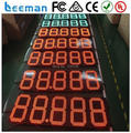"""leeman 10inch 12"""" 12 inches red color gas station led gas price sign 8.88 9 LED gas price sign,led gas price digital sign"""