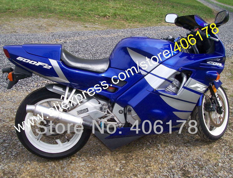 Hot Sales,Motocycle fairings for HONDA CBR600 F2 91 92 93 94 CBR600F2 1991 1992 1993 1994 CBR 600 Blue custom fairings set мото обвесы hjmt 93 94 cbr600 f2 91 94 f2 cbr600 f2