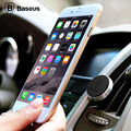 Baseus 360 graus de Giro Car air vent Phone Holder Universal iphone 5s 6 magnetic mount suporte para samsung galaxy s6 além de