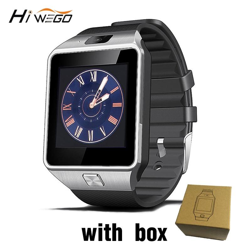 Умные часы с слотом для sim-карты Push Message Bluetooth подключение телефона Android лучше, чем DZ09 Smartwatch мужские часы