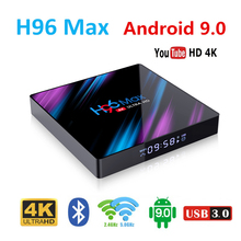 TV Set top box H96 MAX 3318 tv boxing Android 9.0 4GB RAM 32GB 64GB TV Box RK3318 2.4G/5G Wifi 4K H.265 Media Player 1080P cenovo minipcs 4k 1080p tv box windows 10 z8350 4gb 64gb