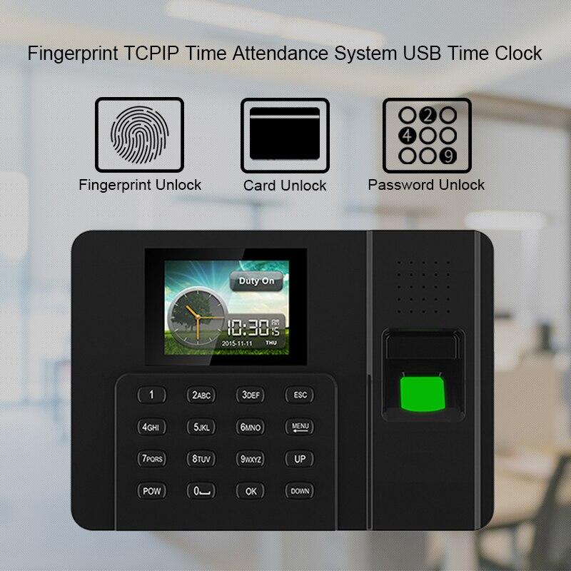 Eseye Biometric Time Attendant Fingerprint Time Clock TCP/IP USB Fingerprint Attendant System Recorder Employee For OfficeEseye Biometric Time Attendant Fingerprint Time Clock TCP/IP USB Fingerprint Attendant System Recorder Employee For Office