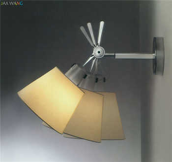 Modern minimalist style adjustable Wall lamps lights bathroom bedroom light led wall lights for home industrial decor lamp