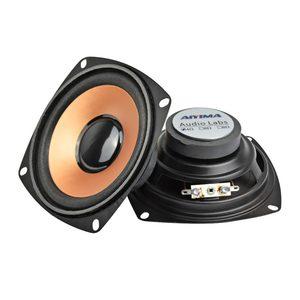 Image 1 - Aiyima 2 Stuks 4Inch 5W Subwoofer Woofer Luidspreker Audio Stereo Kolom Mini Bass Luidspreker Diy Voor Home theater Audio