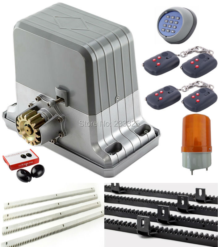 Sliding gate opener m gear racks pairs of