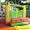 Tropical Popular Inflável Jumper Caslte Pulando Castelo inflável Castelo Bouncy Casa