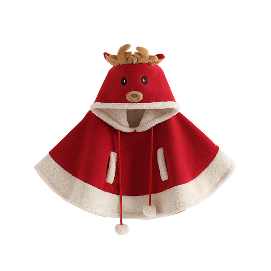 2017 Knee-length Full Christmas Cloak, Children's New Cosplay Show, Dress, Year's Birthday Party Girls Dress Baby Girl Clothes