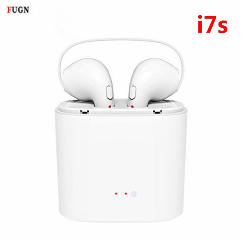 Mini i7S Twins Wireless Earbuds Bluetooth Earphone Stereo Headphone Phone Headset Handsfree With Mic For iPhone Android Phone mini stereo bluetooth headset wireless bluetooth handsfree earphone universal for iphone samsung mobile phone headphone