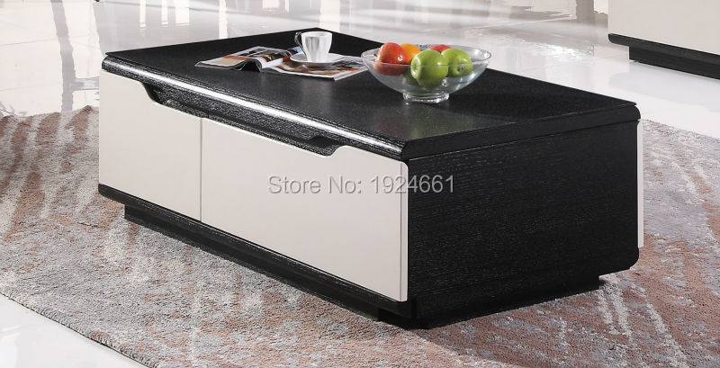 2016 Modern Muebles Cam Sehpalar Coffee Table Iron Side Hot Sale Mirrored Furniture Mesas Wooden With